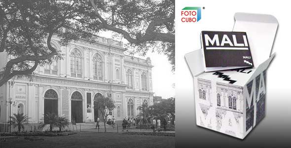 Foto Cubo merchandising MALI