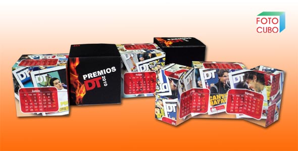 Foto Cubo DT - merchandising