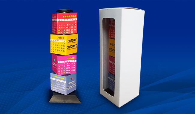 Torre Calendario - Merchandising de Navidad