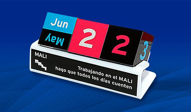 Calendario Perpetuo - Regalo Empresarial de Fin de Año