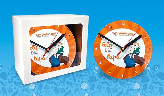 Regalos Personalizados Dia del Padre - Reloj