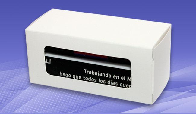 Calendario Publicitario de Cubitos en caja - Peru