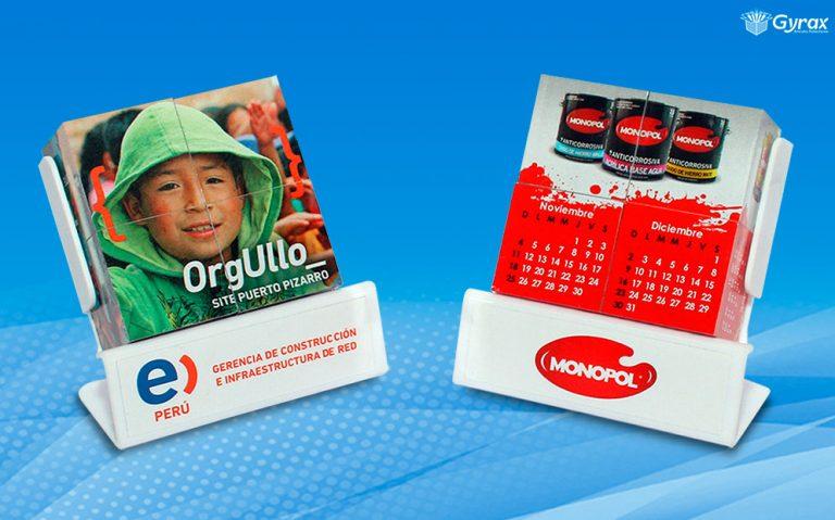 Rompecabezas Publicitario de Escritorio - Merchandising Peru