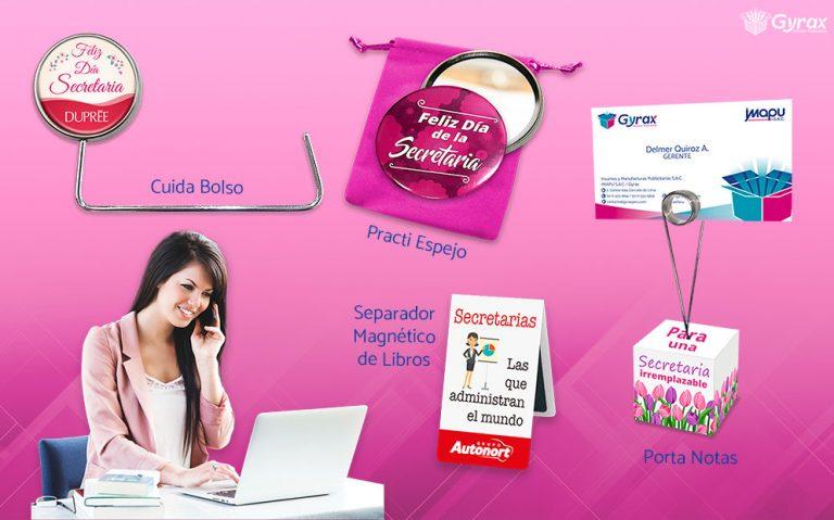 Merchandising Dia de la Secretaria