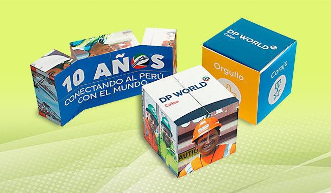 Merchandising Peru - Foto Cubo