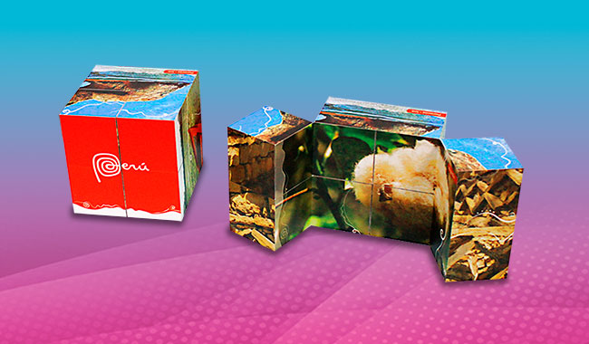 Merchandising Creativo - Cubo Magico